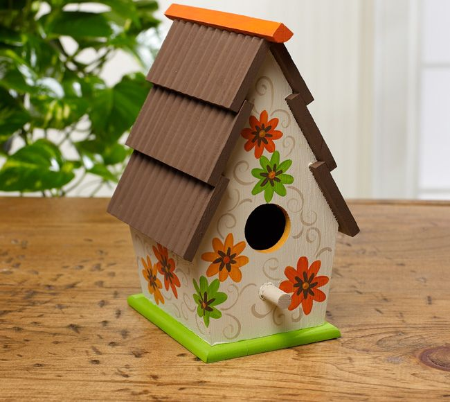 Best 92 Best Images About Painted Birdhouse Ideas On Pinterest This Month