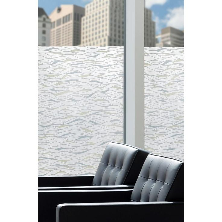 Best Artscape 24 In X 36 In Waterlines Decorative Window Film This Month