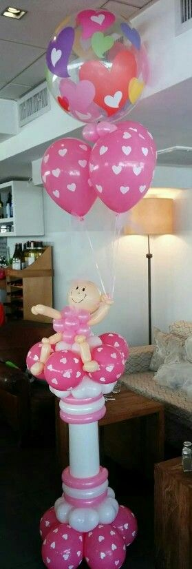 Best 107 Best Images About Baby Shower Balloon Decor On This Month