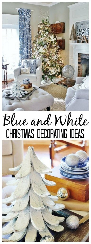 Best 25 Best Ideas About Blue Christmas Decor On Pinterest This Month