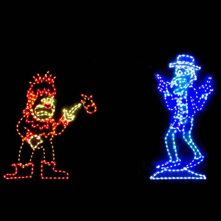 Best Led Animated Christmas Display Miser Brothers Products This Month