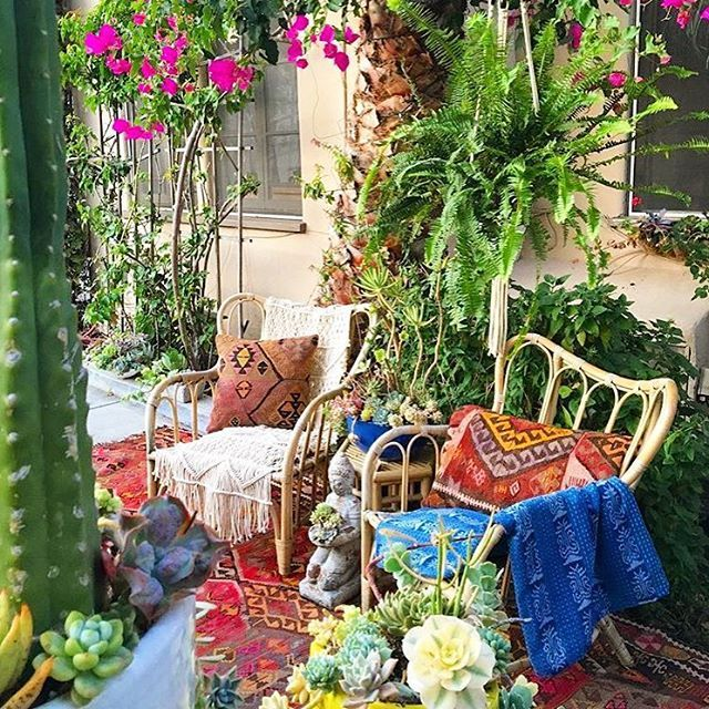 Best 306 Best ☮ Bohemian Patio S P☮Rches Balconies This Month