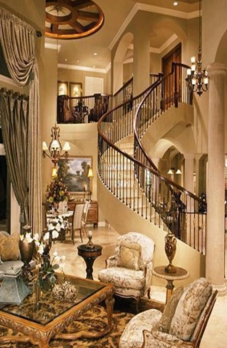Best Luxury Home Interiors Grand Mansions Castles Dream This Month