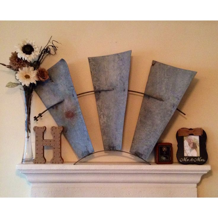 Best Decorating Mantel With Windmill Blades Google Search This Month