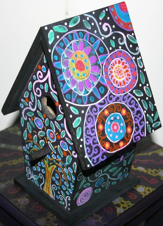 Best 25 Best Ideas About Painted Birdhouses On Pinterest This Month