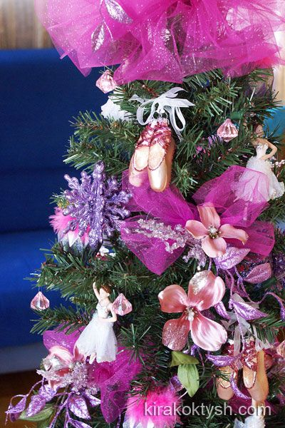 Best Ballerina Christmas Tree 01 4 Pink For Christmas This Month