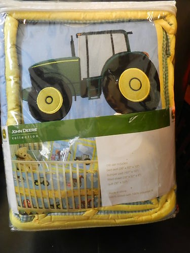 Best Nursery Bedding Sets Farm Animals And John Deere Tractors This Month