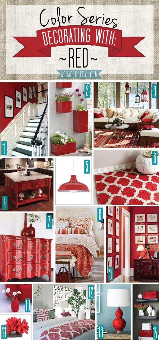 Best 25 Best Ideas About Red Accents On Pinterest Red Decor This Month