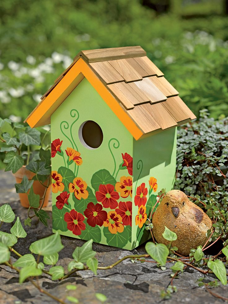 Best Top 25 Ideas About Painted Birdhouse Ideas On Pinterest This Month