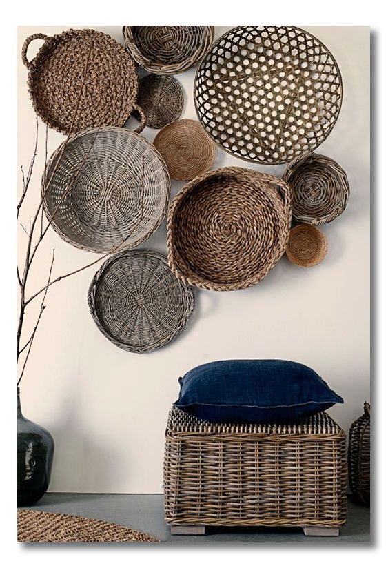 Best 25 Baskets On Wall Ideas On Pinterest Home Decor This Month