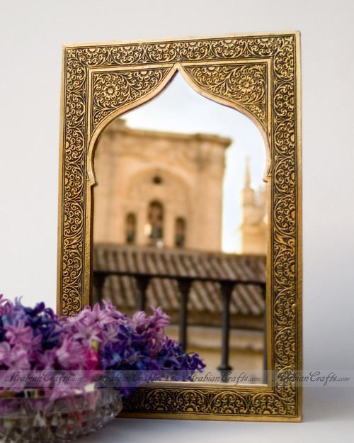Best Arabian Arch Shape Wall Mirror Beautifully Decorated With This Month