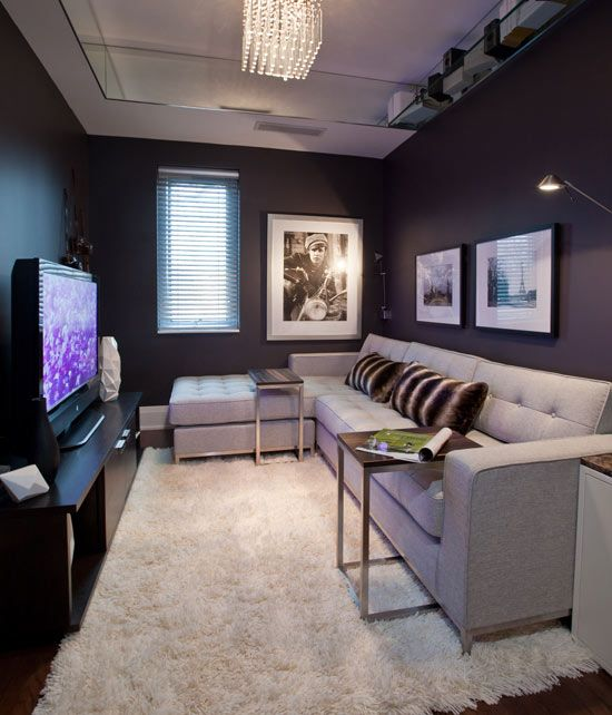 Best Small Den On Pinterest Small Media Rooms Small Tv Rooms This Month