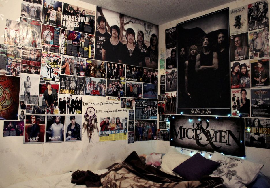 Best Tumblr Poster Emo Feel Free To Submit Your Own Bedrooms This Month