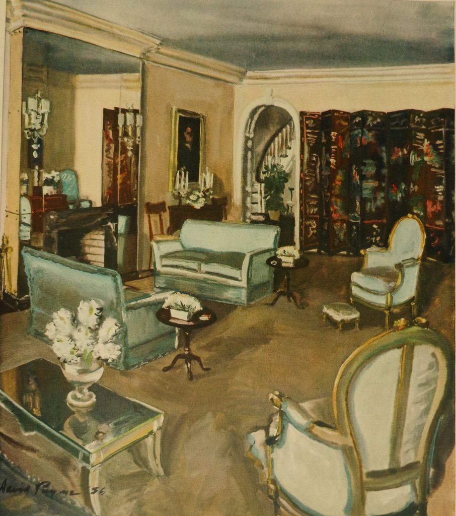 Best 1930S Living Room By David Mode Payne 1930S Living This Month
