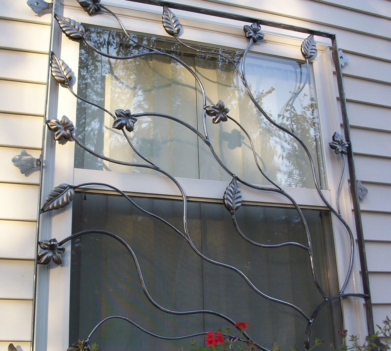 Best Cast Iron Security Bars For Window Leaves And Vines This Month