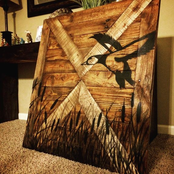 Best Duck Hunting Wall Decor Wood Sign By Makeyourselfcreative This Month