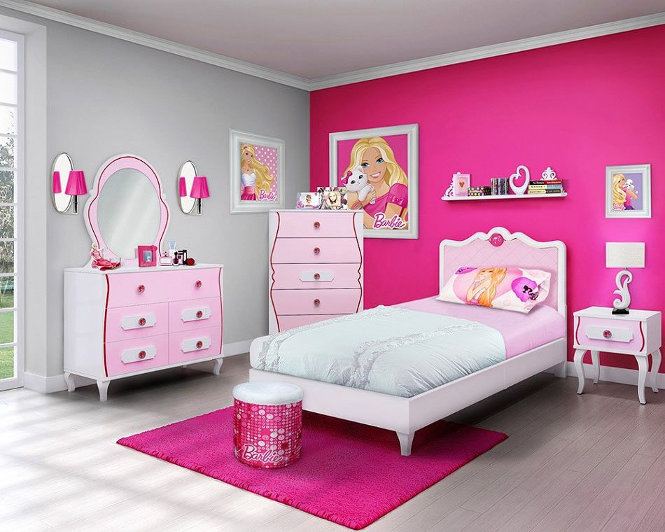 Best Picture Perfect Girls Barbie Bedroom Socialcafe This Month
