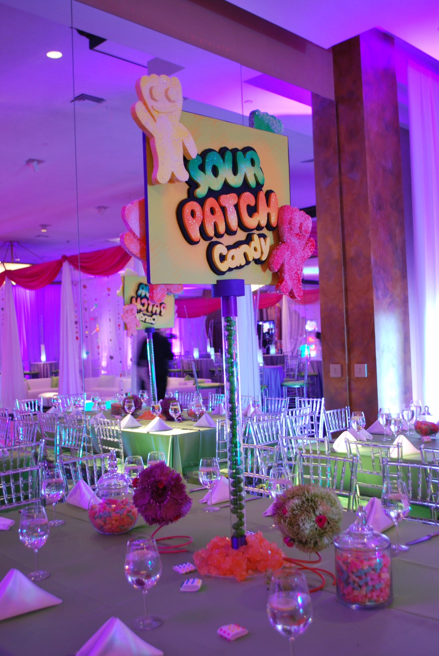 Best Candy Themed Bat Mitzvah Event Decor Party Perfect Boca This Month