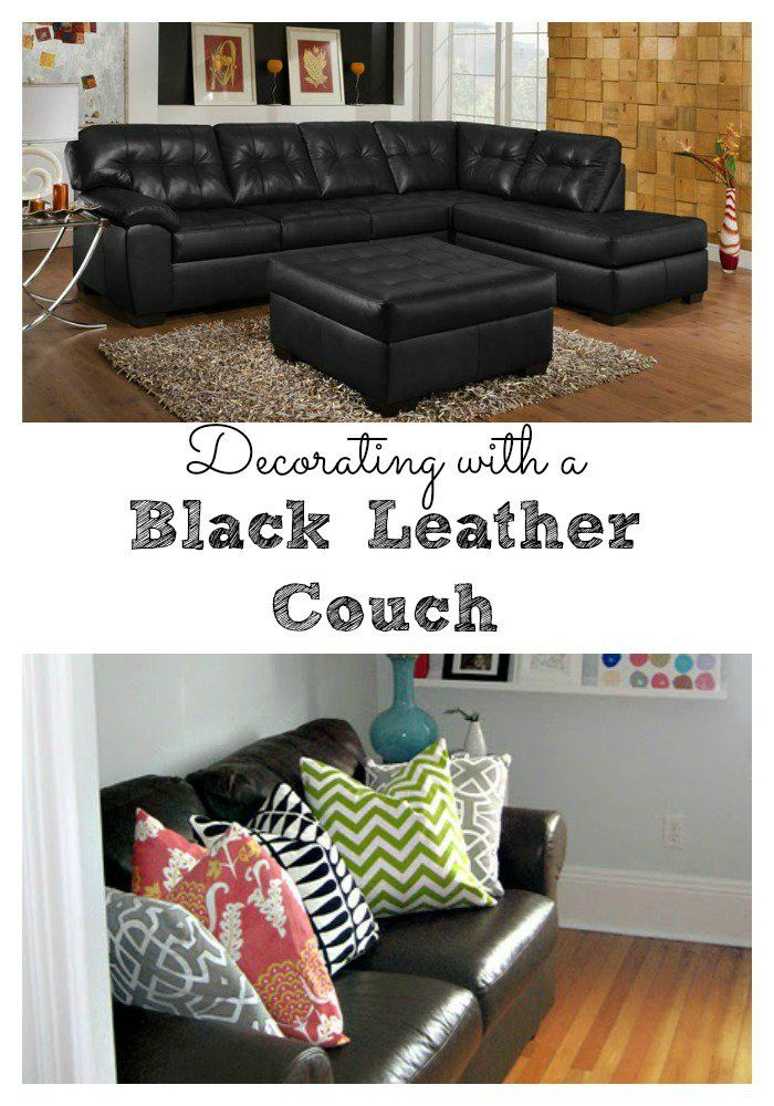 Best Living Room Decorating Ideas Black Leather Couch This Month