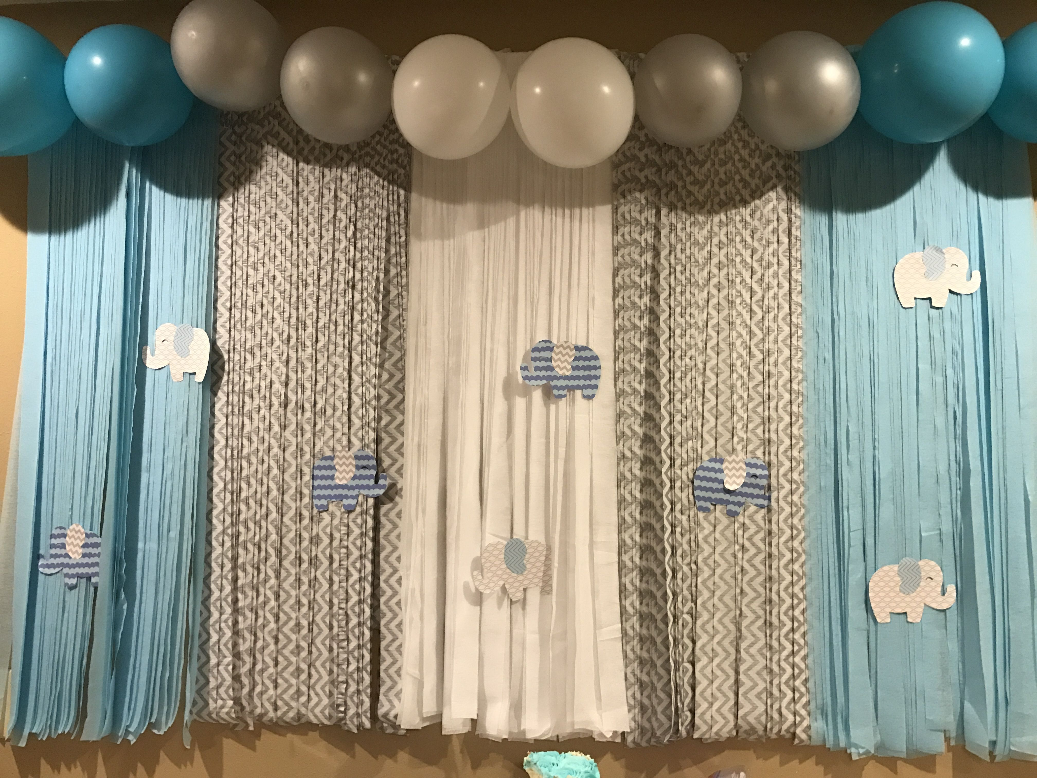 Best Baby Shower Theme Elephants Baby Boy Shower Pinterest This Month