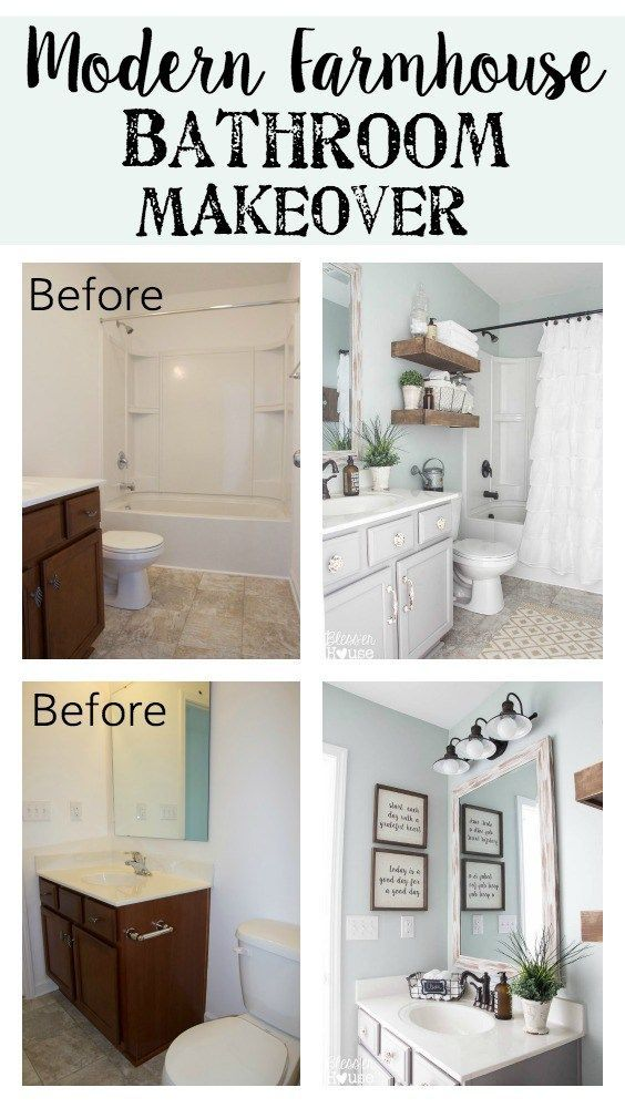 Best Five Tiny Bathroom Decorating Ideas Farmhouse Style This Month