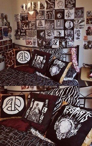 Best Punk Rock Not To Much Goth Tho T**N Bedroom Lol This Month