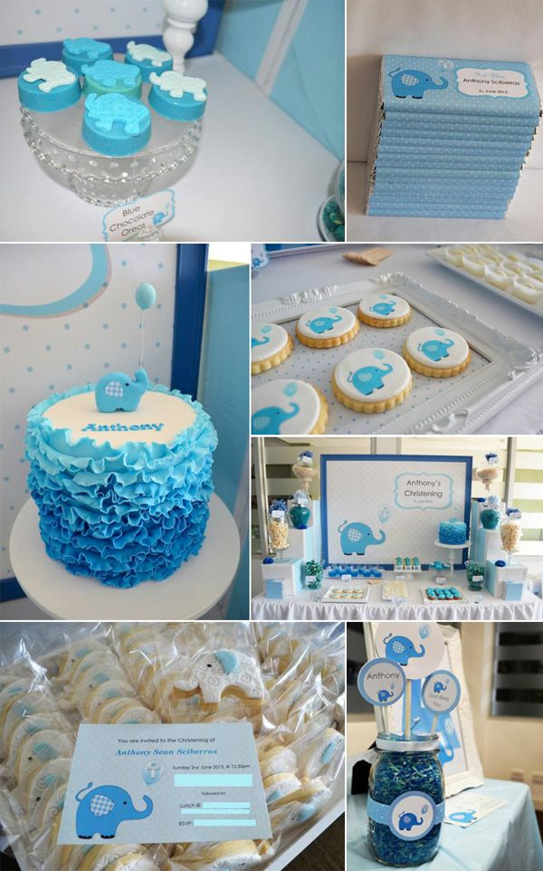 Best Blue Elephant Baby Shower Ideas Baby Shower Ideas This Month