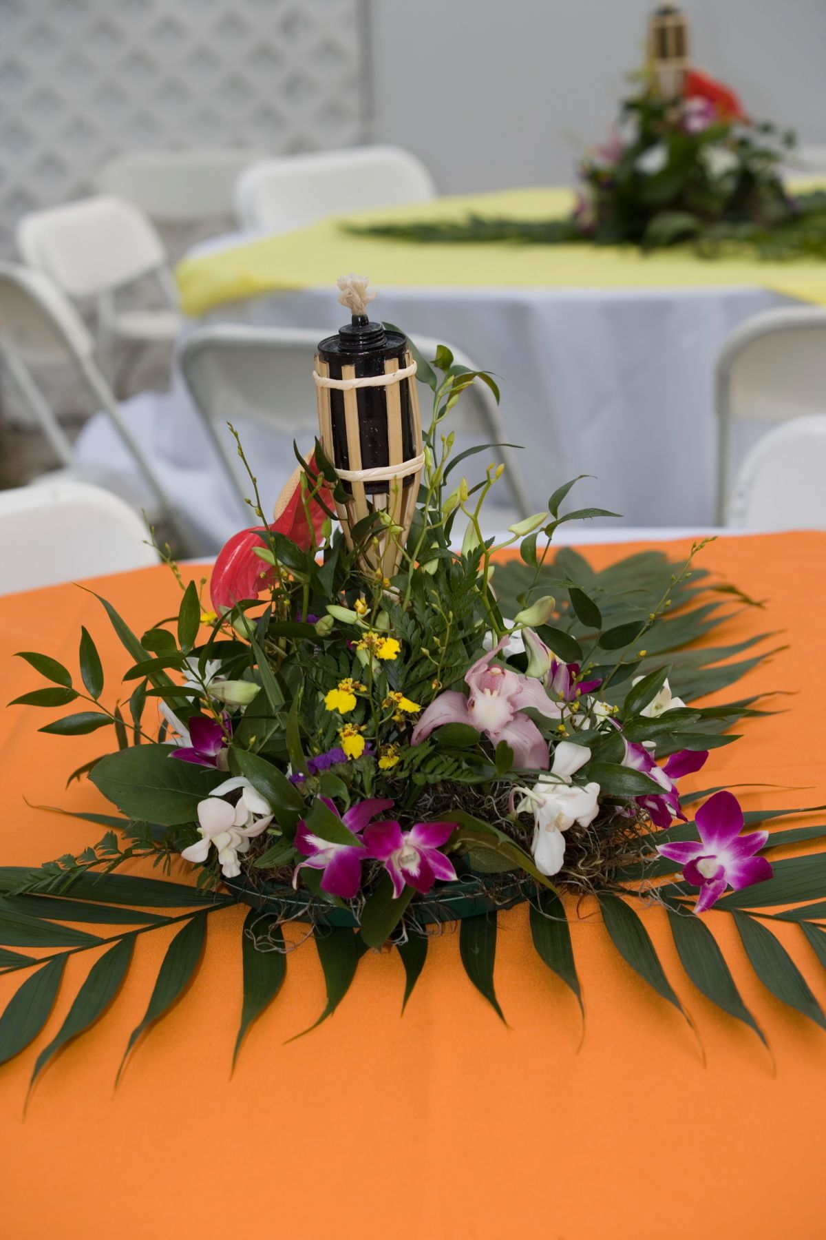 Best Hawaiian Themed Wedding Reception Centerpieces And Mini This Month