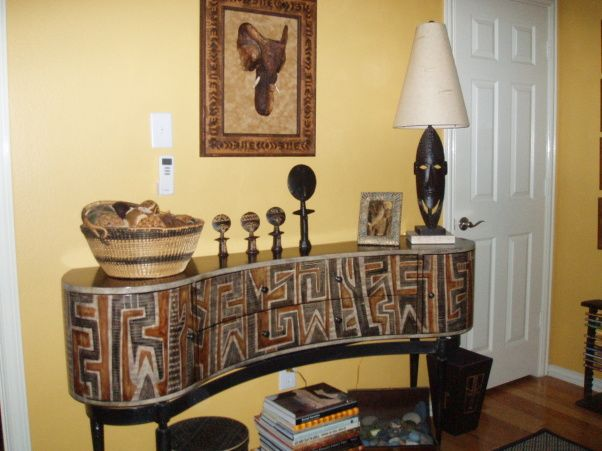 Best African Decorating Ideas African Artifacts And A This Month