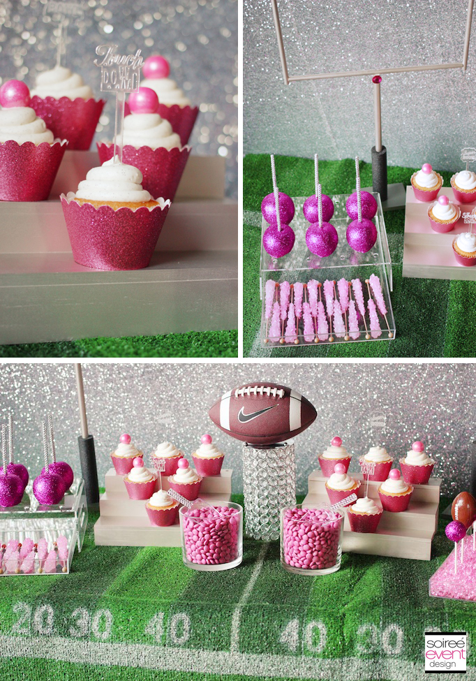 Best Girly Football Sweets Table Soiree Event Design This Month