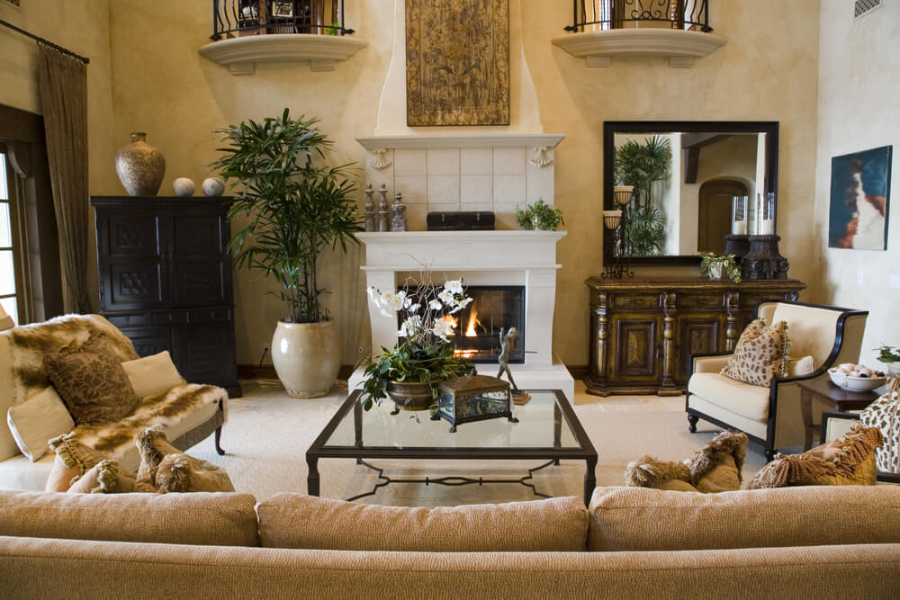 Best 47 Beautifully Decorated Living Room Designs This Month