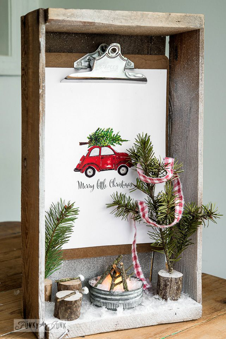 Best Top 10 Creative Shadow Box Ideas For Christmas Top Inspired This Month