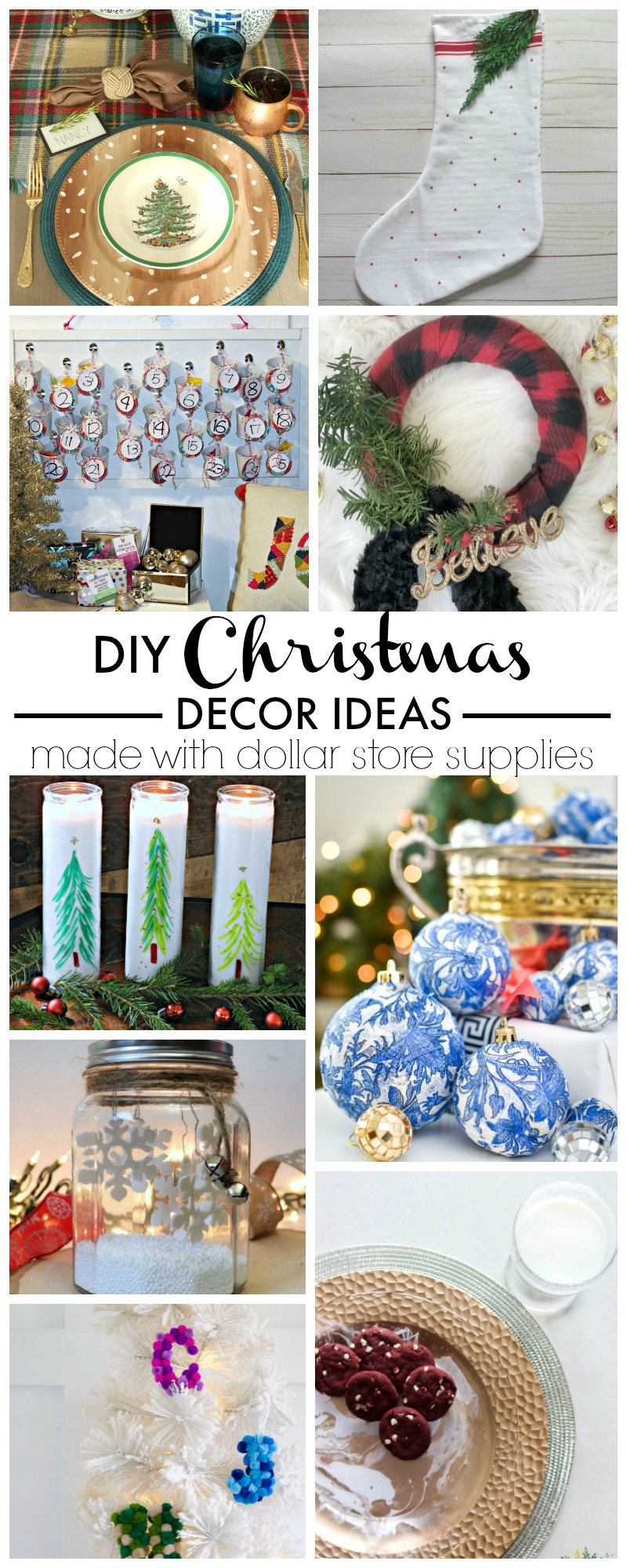 Best Diy Dollar Store Blue White Chinoiserie Ornaments This Month