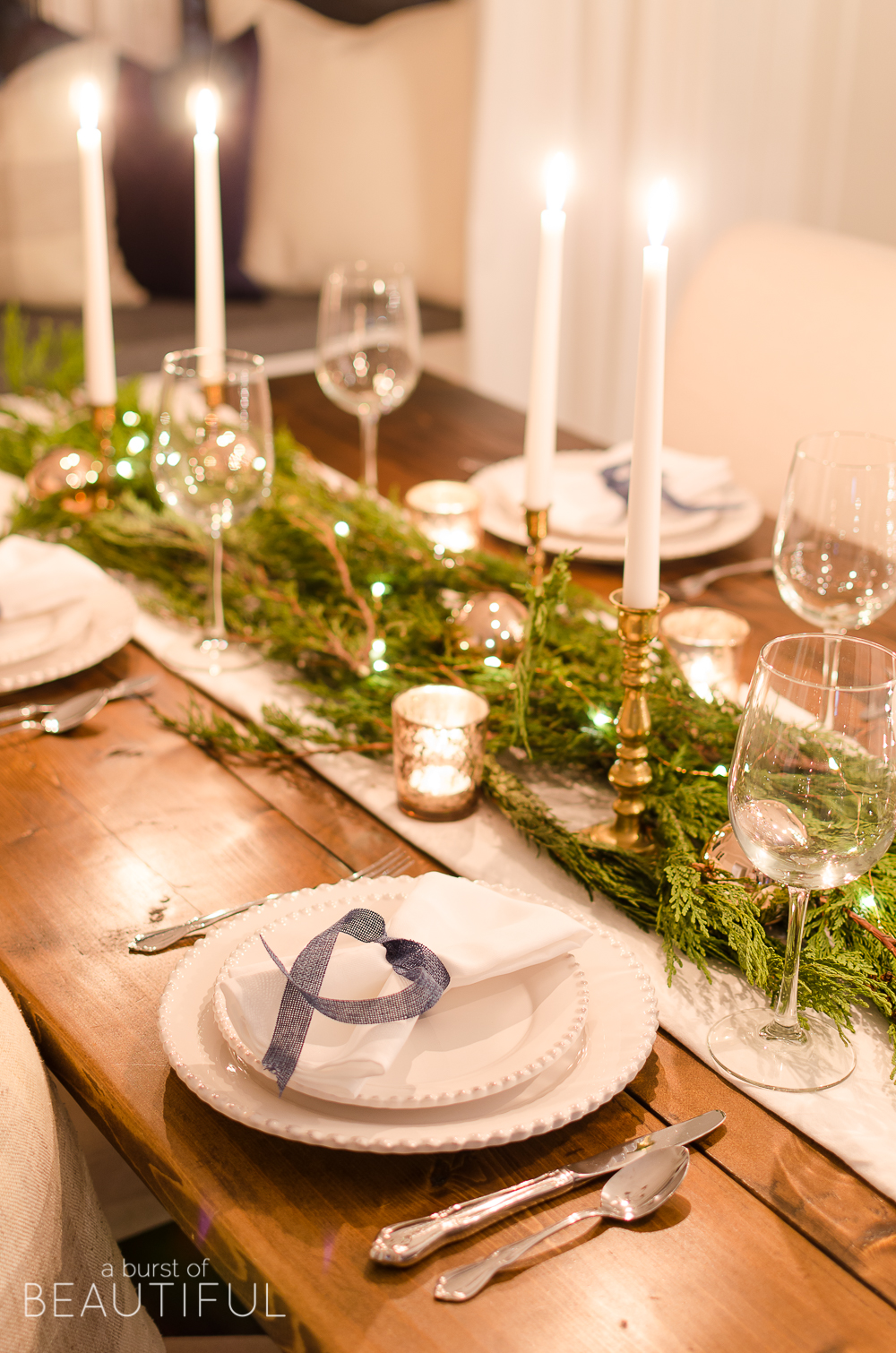 Best 15 Christmas Dinner Table Decoration Ideas For Your This Month