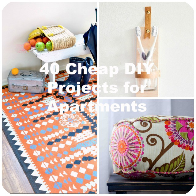 Best 40 Cheap Diy Projects For Small Apartments This Month