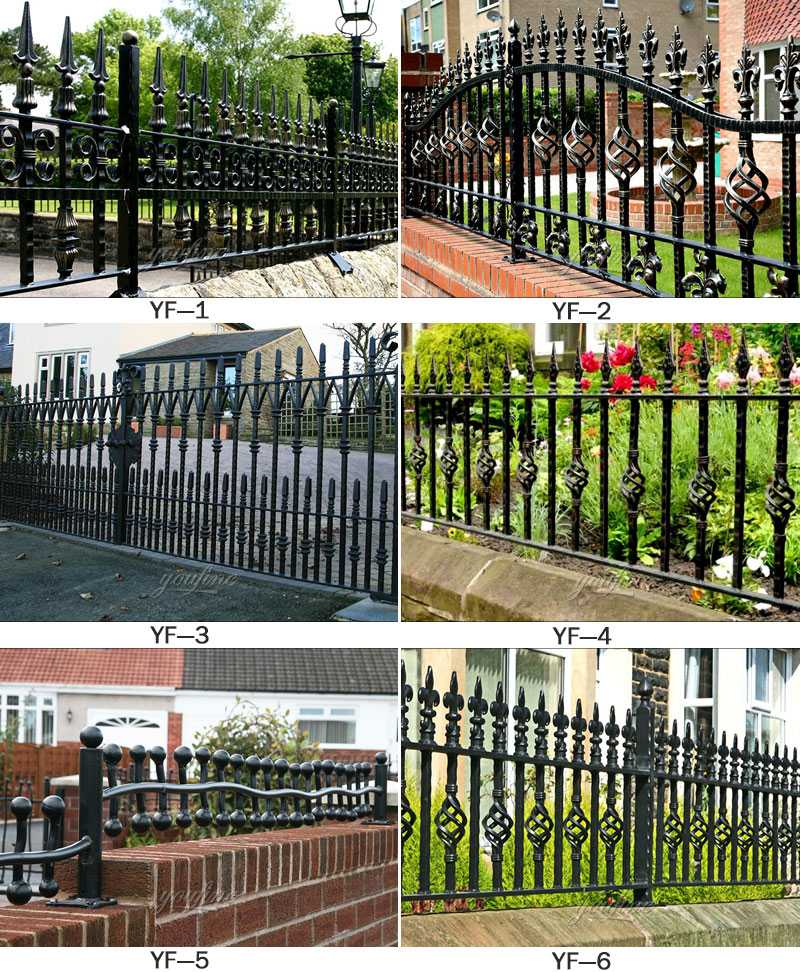 Best Wholesale Decorative Wrought Iron Fence Panels And Gates This Month