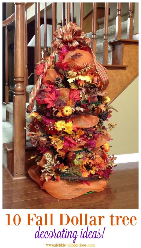 Best Festive Fall Decorating Tree Ideas Debbiedoos This Month