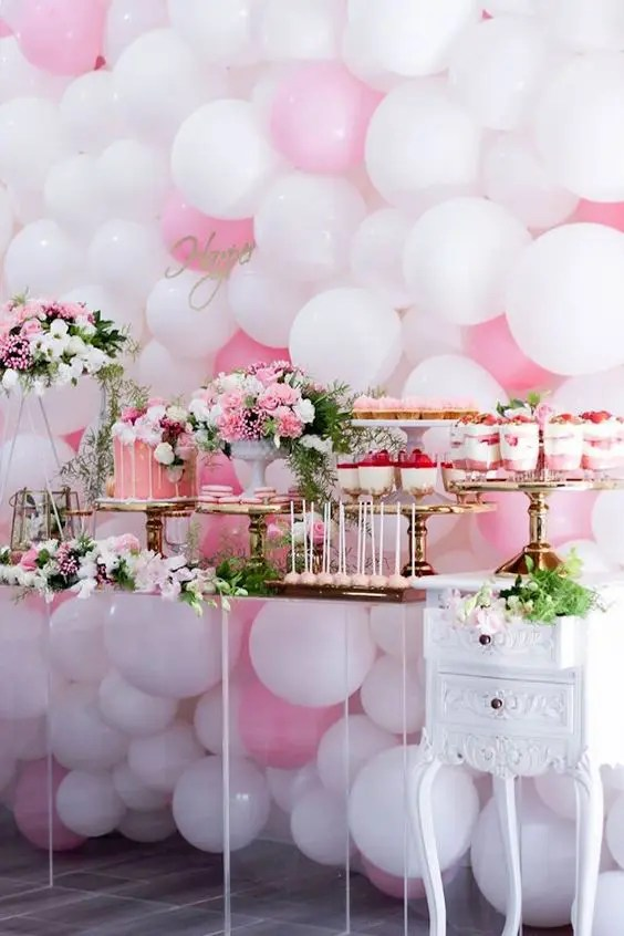 Best 36 Cute Balloon Décor Ideas For Baby Showers Digsdigs This Month