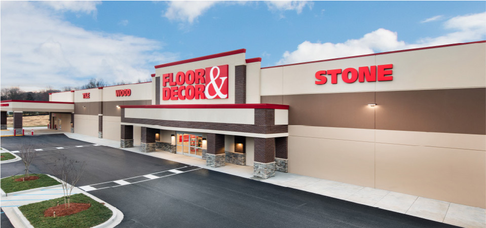 Best Floor Décor Store Matches Town Center Project This Month