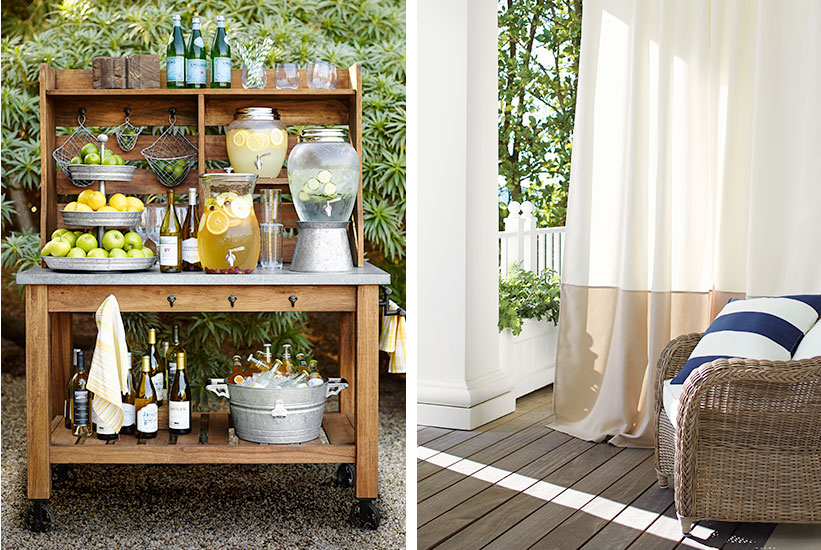 Best 5 Unconventional Outdoor Porch Decorating Ideas Pottery Barn This Month