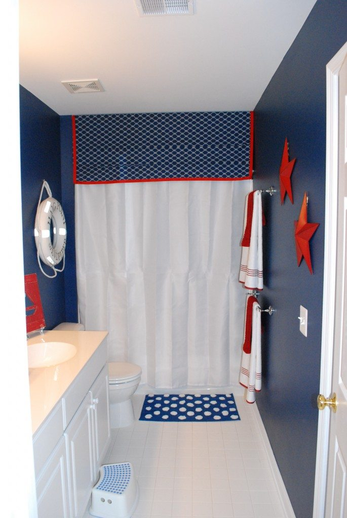 Best Boys Bathroom With A Nautical Theme 11 Magnolia Lane This Month