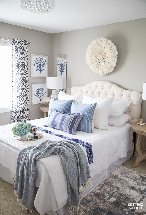 Best 7 Simple Summer Bedroom Decorating Ideas Setting For Four This Month
