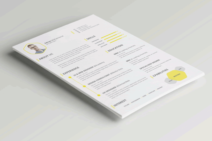 Simple Resume Template   shatterlion info simple resume template