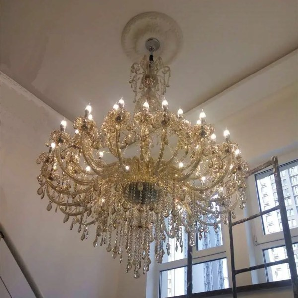 crystal chandelier lighting # 36