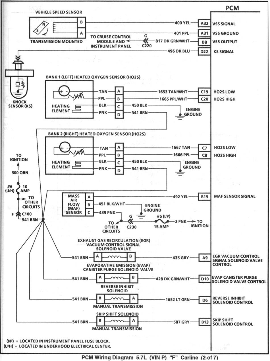 4th gen lt1 f body tech articles rh shbox ford ranger wiring harness diagram ford 104 pin pcm diagram