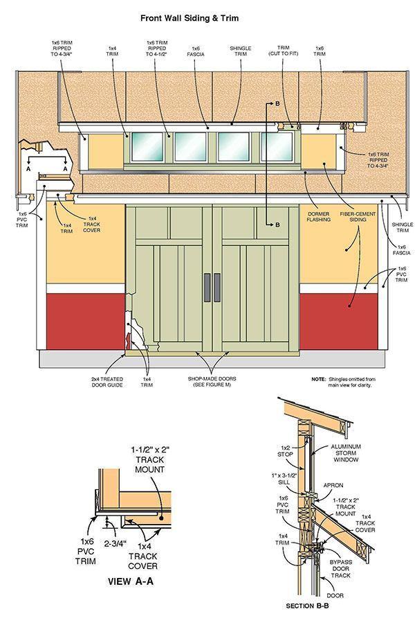 Storage Building Blueprints