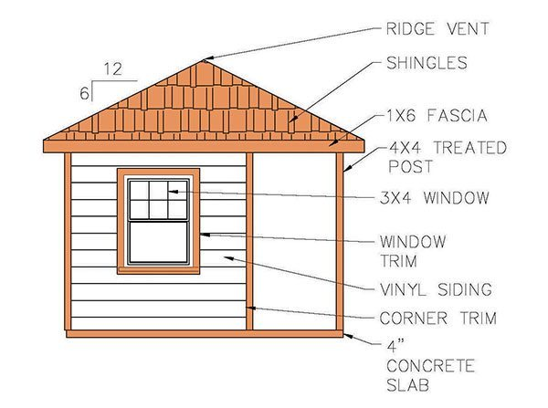 Garden Shed Building Plans