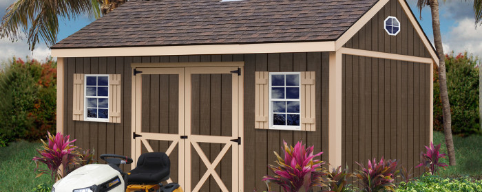 Build Your Own Storage Shed Kits