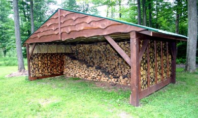 Firewood Shed Plans Small Wooden Thing