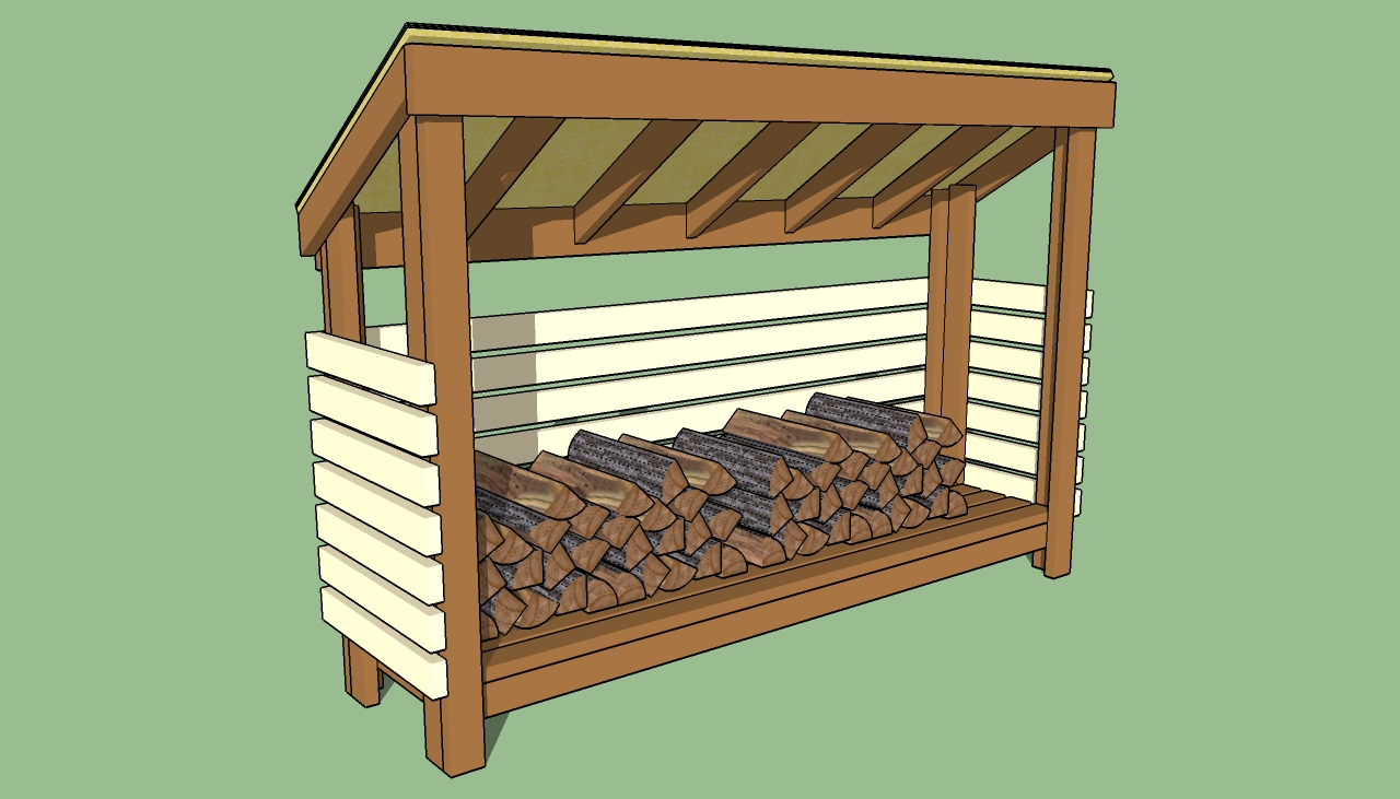 Building Wood Shed